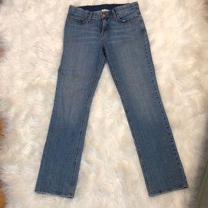 Levi's perfect waist 525 straight leg jean size 8
